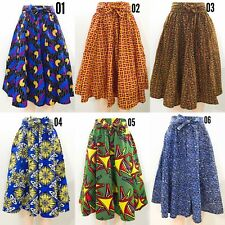 04f373df5a Women's Printed African Midi Skirt WITH POCKETS One Size + HEADWRAP