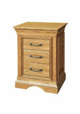 Unbranded Oak Contemporary Bedside Tables & Cabinets