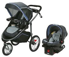 Graco Baby Modes Jogger Click Connect Travel System Jogging Stroller Malibu NEW