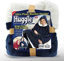 Plush Hooded Blanket Robe Huggle Hoodie Ultra Premium Fleece Pick Color