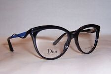 NEW CHRISTIAN DIOR EYEGLASSES CD 3279 8LB BLACK BLUE 51mm RX AUTHENTIC