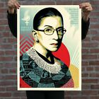 OBEY A CHAMPION OF JUSTICE Ruth Bader Ginsburg 24x36 Large Screen Print Poster
