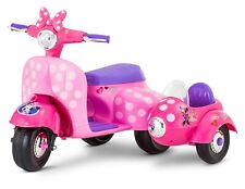 New listing Disney Minnie Mouse Happy Helpers Scooter with Sidecar Ride-On Toy New Fast Ship