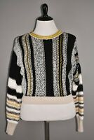 FREE PEOPLE NEW $148 Show Me Love Striped Pullover Sweater XL