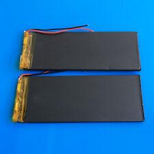 2 pcs 3.7V 1810mAh Li Po Battery For PC DVD GPS 323896 Camera Cell Phone PAD PSP