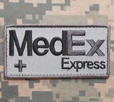 MEDEX EXPRESS TACTICAL MEDIC EMT EMS ACU VELCRO® BRAND FASTENER BADGE PATCH
