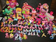 My Little Pony Ponyville Playsets Figures Accessories Huge Toy Lot