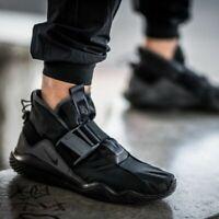 Nike Komyuter SE UK Size 8 Men's Trainers Waterproof Triple Black Shoes