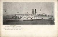 Hudson Navigation Co Citizens Line Steamer Ship TROJAN c1910 Postcard