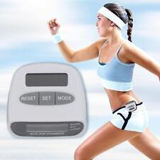 Schrittzähler Pedometer mit LCD Display Solar Batterie Kalorienmesser Pedometer