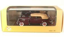 Cadillac V16 Series 90 Convertible Sedan closed (maroon) 1938 1:43 GIM Great ...