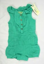 Infant Girls Genuine Kids Oshkosh Bright Jade Green...