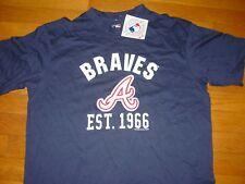 Official MLB   ATLANTA BRAVES  Baseball    T-Shirt NWT NEW  sz... LARGE