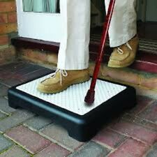 Mobility Riser Half Step for Extra Large -Slip Resistant Sturdy Indoor & Outdoor