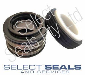 Davey Fire Pump VITON Mechanical Seal with Silicon vs Silicon Carbide Seal Faces