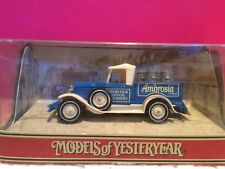 MATCHBOX MODELS OF YESTERYEAR FORD MODEL A AMBROSIA 1/43 NEUF BOITE G8