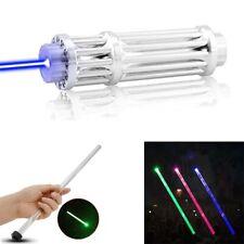 High Power 1000000M Laser Pointers 450Nm Lazer Flashlight Burning powerful torch
