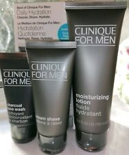 CLINIQUE FOR MEN DAILY HYDRATION - CLEANSE, SHAVE, HYDRATE - 100ML MOISTURIZER
