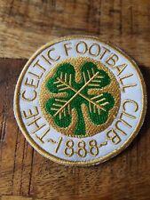 Retro Scottish  Glasgow Celtic 1888 football fans shirt  Patch Badge scotland