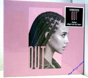 nouvel album Cd KIMBEROSE : Out neuf 29/1/2021 edition digipack back on my feet