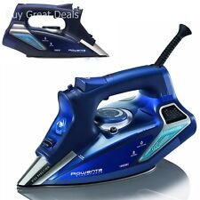 Rowenta DW9280 Steam Focus Steam Iron, Blue 1800 Watt Professional Rowenta Iron