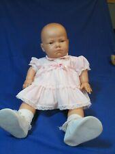 Berjusa 20� Weighted Baby Doll – Vinyl/Cloth Body – 1984 – Reborn – Vg Cond