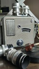 Admira Electric 16 A1 16mm Movie Camera with 4x Meopta Lenses w Bag