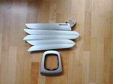 Audi Q3 8U S-LEINE Gebürstetes Alu Dekorleiste Armaturenbrett Tür Mittelkonsole
