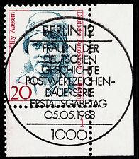 32) Berlin 20 Pf Frauen 811 FN 1 Formnummer Ecke 4 ESST Berlin 12 mit Gummi