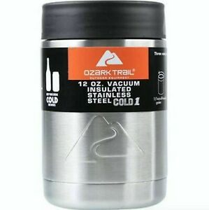 Ozark Trail 12 oz Vacuum Insulated Stainless Steel Can Cooler