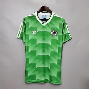 1990 Germany Away Retro Soccer Jersey