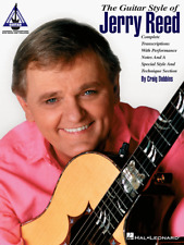 THE GUITAR STYLE OF JERRY REED:GUITAR-TAB/TRANSCRIPTIONS MUSIC BOOK NEW ON SALE!