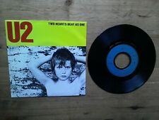 "U2 Two Hearts Beat As One 7"" Excellent Vinyl Record 814653 1983 French Press"