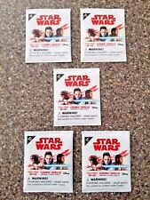 5 Star Wars Cosmic Shells - Five Unopened Packages!  FREE SHIPPING!