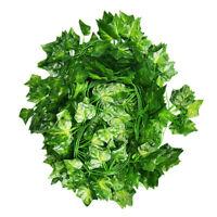 12pcs/set Artificial Ivy Silk Greenery Fake Hanging Vines Garland Creeper Leaves