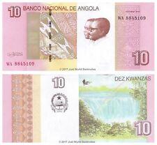 Angola 10 KWANZAS 2012 (2017) P-NUOVE BANCONOTE UNC
