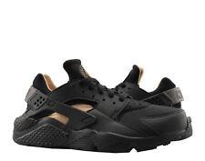 sports shoes cf9e2 0d507 Nike Air Huarache Run Black Black-Metallic Gold Men s Running Shoes  BV1166-001