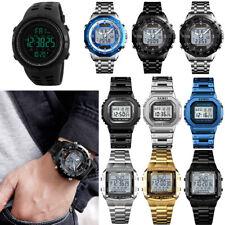 Reloj de Pulsera SKMEI reloj Sport Reloj De Mujer Hombre Niño Niño Alarma Digital LED Regalo UK