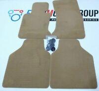 Bmw Floor mats VELOURS set NATURBRAUN NEW 7' 7er E66 E67 51477128129 7128129