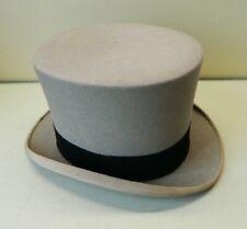 Vintage Lock & Co. Hatters London Men's Top Hat