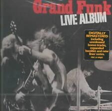 GRAND FUNK RAILROAD - LIVE ALBUM [US REMASTERED] [REMASTER] NEW CD