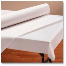 "Banquet White Paper Table Cover Roll 40"" X 300'  Daycare, School, Parties & More"