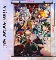 Poster 42x24 cm Black Clover Asta Manga Anime Cartel Decor Otaku Impresion 04