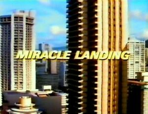 Miracle Landing - 1990 Wayne Rogers, Connie Sellecca, Nancy Kwan (dvd disc only)