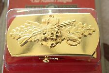 USN US NAVY USS SHIP SHORE AIR OFFICER CREWMAN SEABEE RATE SPECIALTY BELT BUCKLE