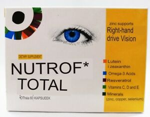 Nutrof Total with vitamin D3 - 60 caps