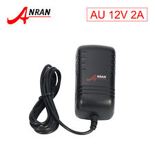 ANRAN DC12V 2A Power Supply Adapter Charger for LED Strips Light for CCTV Camera