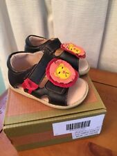 Nib Livie And Luca Leo Size 4 Toddler Boys Girls Lion Sandals Shoes Chocolate