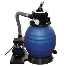 Filtro pompa a sabbia di quarzo per piscina 10.200 lt/h 400W D3T2