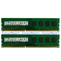 8GB Samsung 2x4GB DDR3 PC3-12800U 1600 MHz 240pin Desktop Memory PC RAM NON-ECC
